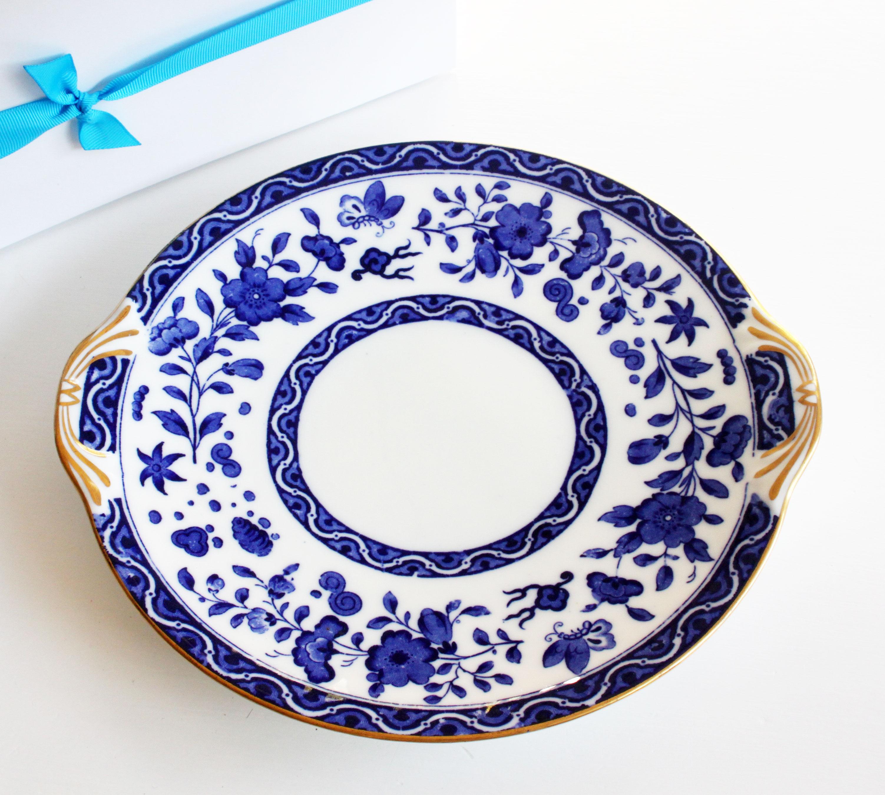 (CP007) ROYAL DOULTON antique / vintage cake plate £25.00  sc 1 st  Tara Honeywill Vintage China & Tara Honeywill Vintage China